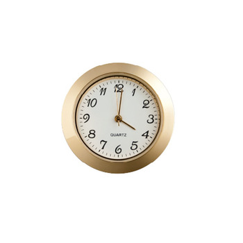Hot sale Various sizes of mini modern clock inserts for setting and decoration