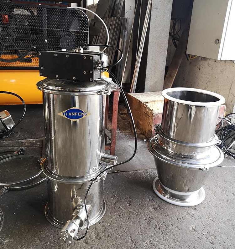 Automatic loading machine QVC Series Grain Pneumatic Vacuum Lifter Transfer Feeder Conveyor For Powder
