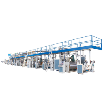 Corrugated Cardboard Production Line Use for Producing 3/5/7 Ply Cardboard for Carton