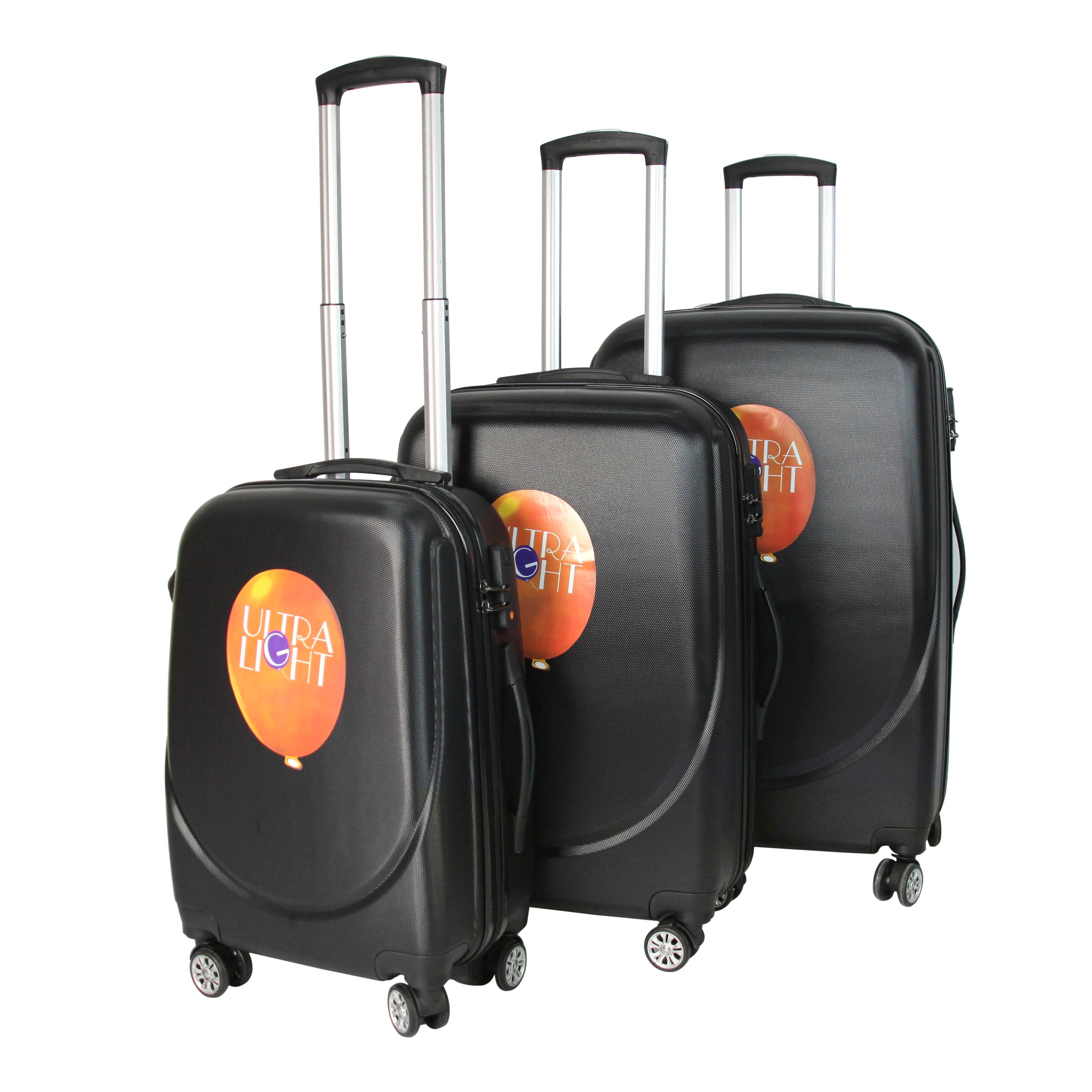 Водонепроницаемый комплект из 3 предметов, легкий чемодан-Спиннер