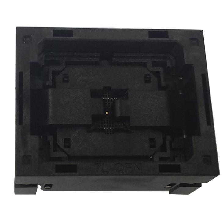 QFN36(5x5)-0.4 Burn in Socket IC Test Socket Opentop Chip IC Size 5*5 Test Socket QFN36 MLF36 Flash Adapter Socket customized