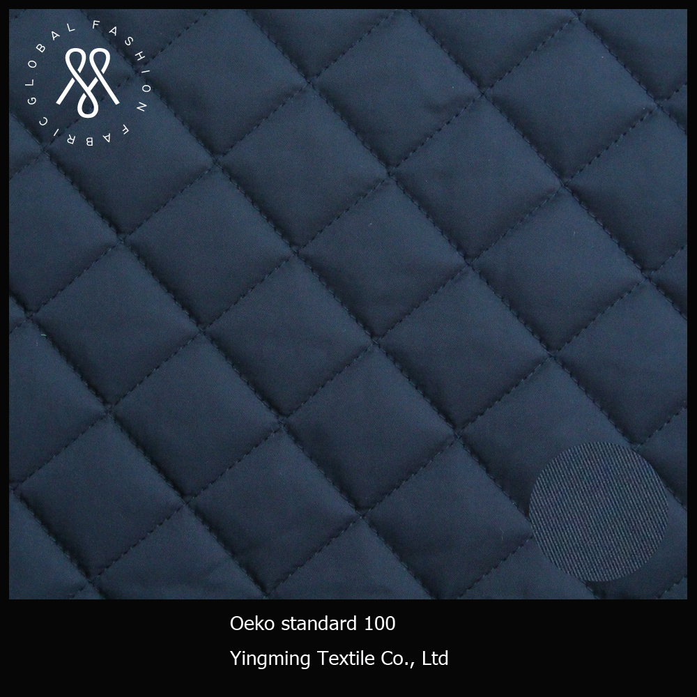 winter jacket quilted fabric for down jacket