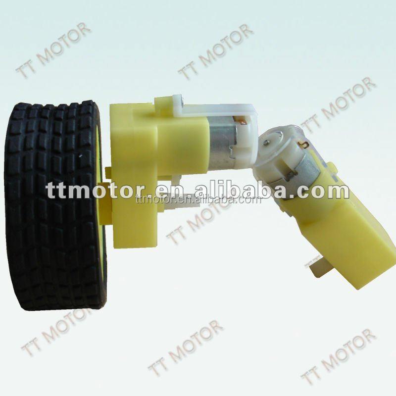 TTMOTOR или пластиковый Шестеренчатый игрушечный двигатель с одним колесом