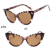 Женские винтажные очки кошачий глаз, солнцезащитные очки кошачий глаз в стиле ретро, 2019(Китай)