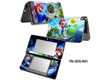 Cool Mario Vinyl Decal Skin Sticker Front & Back PVC Cover Protector for Nintendo 3DS N3DS Full Set Cover Decals Free Shipping