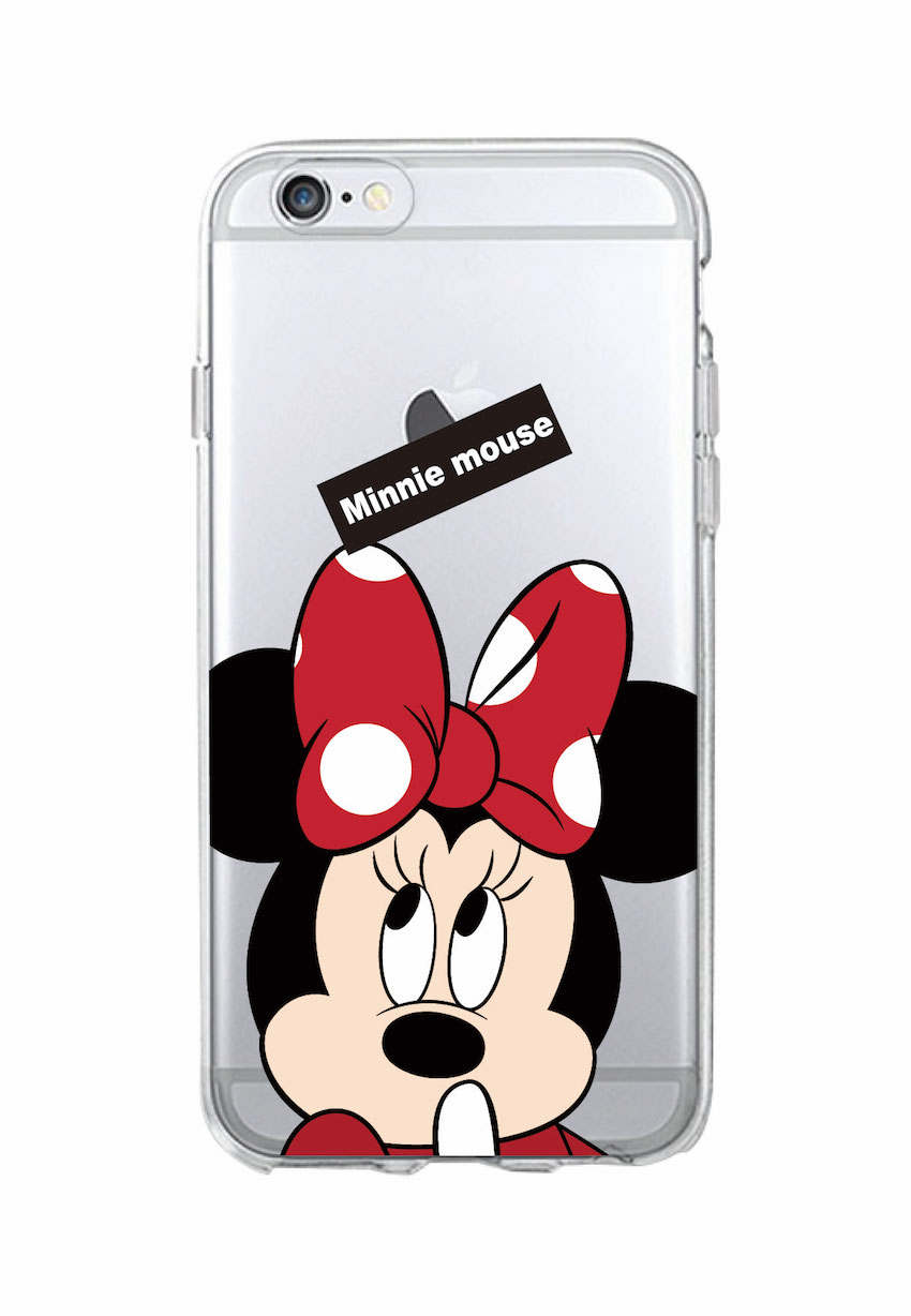 Cute Minnie Mickey Mouse Daisy Donald Duck Pluto Soft Clear Phone Case  Fundas For iPhone 7 7Plus 6 6S 8 8Plus X XS Max SAMSUNG