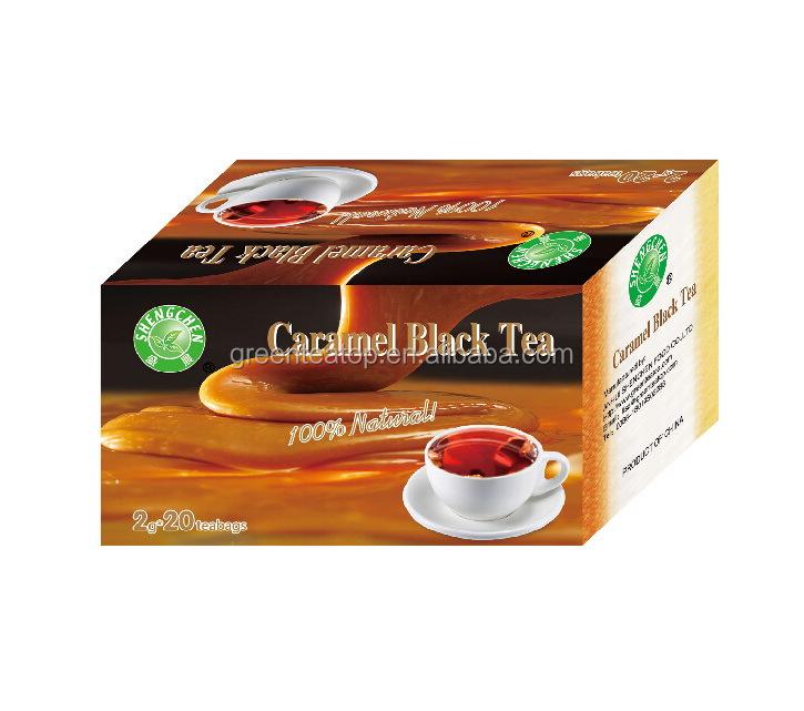 Chinese famous tea caramal black tea made in China 2g *20bags /box - 4uTea   4uTea.com