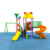 China high quality amusement park rotational molding process children outdoor playground equipment