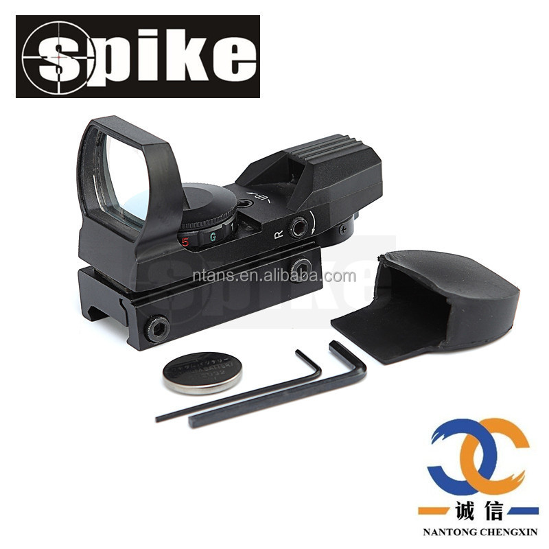 Red Dot Sight Reflex Tactical Rifle Scope 4 Reticle Patterns Wide Field of View for sale online
