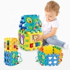 Funny Christmas Gift Assembling Diy Baby Cube Kids Educational Learning Toys