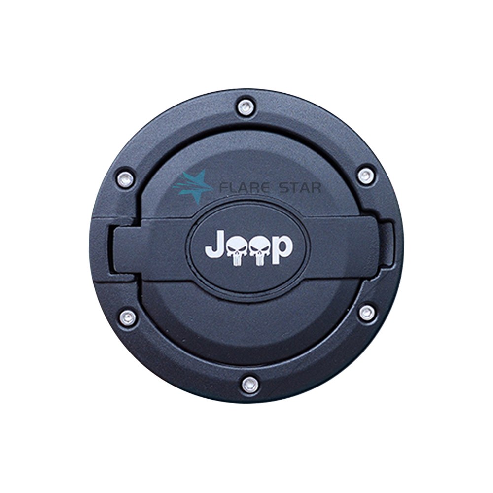 Fuel Filler Door Cover, Latest Model Fuel Tanks for JK 07-16, CARAccessories