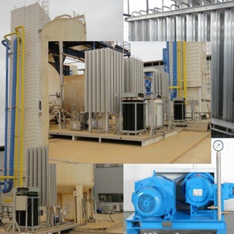 Криогенная установка ASU для разделения воздуха, жидкий азот