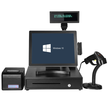 15 inch POS system/ All-in-one/POS hardware cashier machine/point of sale system