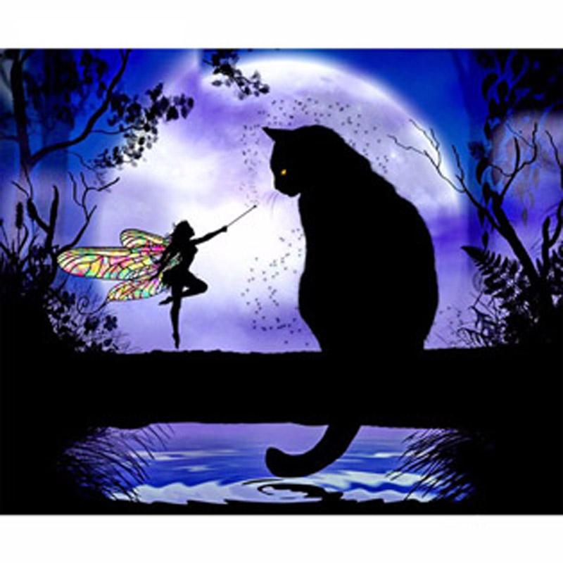 Acquista all 39 ingrosso online disegni gatto nero da for Disegno 3d online