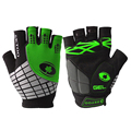 Half Finger Cycling Gloves Breathable Outdoor Sports Bicycle Gloves Anti slip Refelctive Strip Bike Gloves 4