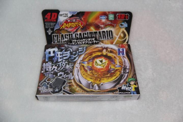 4d Hot Sale Beyblade 1pcs Beyblade Metal Fusion 4d Set Fusion Hades
