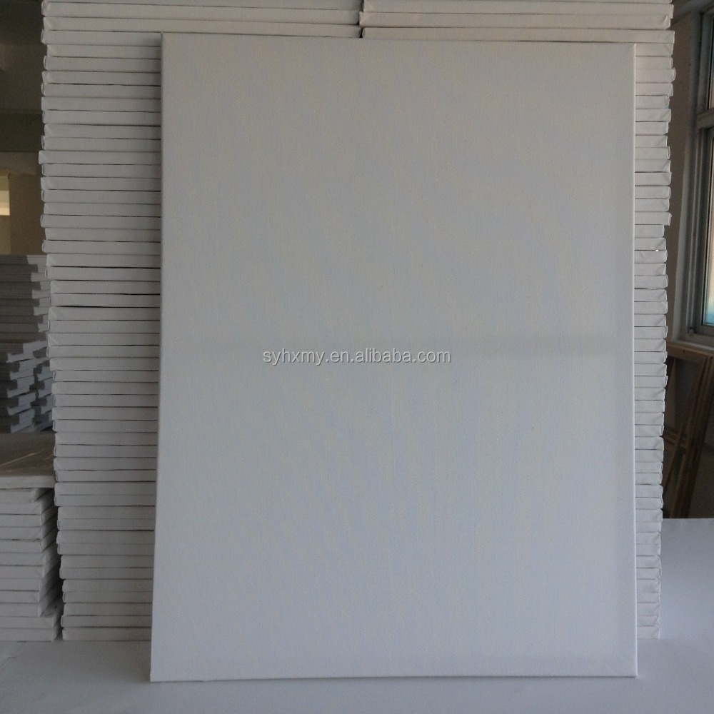 High quality large size 50*70 cm stretched canvas for gallery
