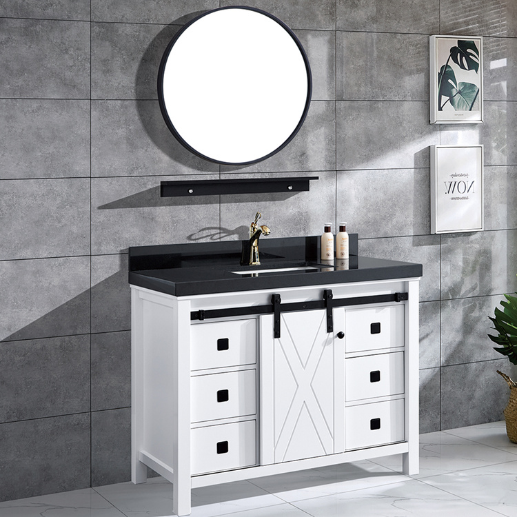 Solid Wood 36 Inch Modern Furniture Bathroom Vanities With Mirror Buy Vanity Bathroom Vanity Mirrored Vanity Product On Alibaba Com