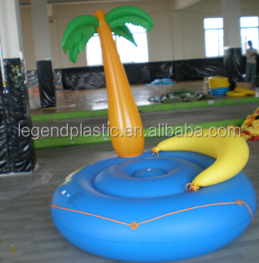 Pvc Inflatable Palm Tree Floating Island Buy Inflatable