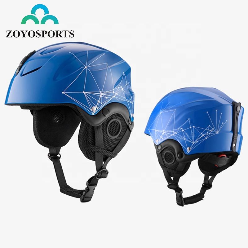 ZOYOSPORT Certificated Adult Winter Helmet Soft Sports Full Face Helmet Protection Snowboard Ski Helmet