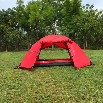 Hot Selling CZX-215 Double Door, 1-Person tent, Lightweight Water Resistant 1 Person Camping Tent with Carry Bag