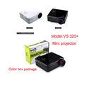 dvd movies cheap portable mini data show hd projector 60 lumen