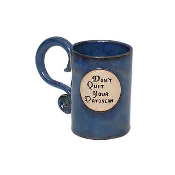 sublimation blue ceramic coffee&tea mug porcelain cup with handle