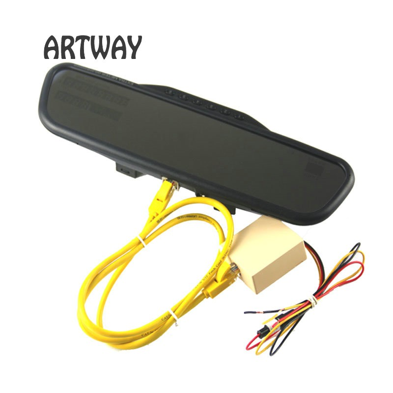 Auto Taxi Meter Rearview Mirror LED Display Taximeter
