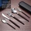 Walnut- 6 PCS set