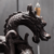 Dragon Sahpe Incense Holder Ceramic Backflow Incense Burner for Home Decor Handicraft Gift