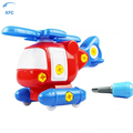 XFC Baby Kids 3D DIY Cute Cartoon Assemble Building Puzzle Toy Airplane Model Educational Learning Toy