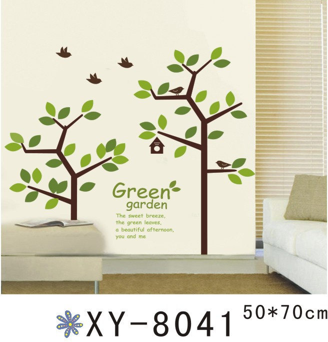 r utilisable famille arbre sticker mural d coratif d coration dans pr sentoir cartes notes. Black Bedroom Furniture Sets. Home Design Ideas