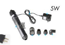 3 Вт 5 Вт УФ-лампа для стерилизации, 23 Вт 25 Вт УФ-стерилизатор для аквариума, фильтр для очистки воды, насос с УФ-подсветкой для удаления водоро...(Китай)