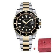 Полностью стальные мужские часы, Топ бренд, Роскошные Кварцевые часы для мужчин, мужские часы, 50 м, Rolexable, спортивные наручные часы, 2019, relogio ...(Китай)