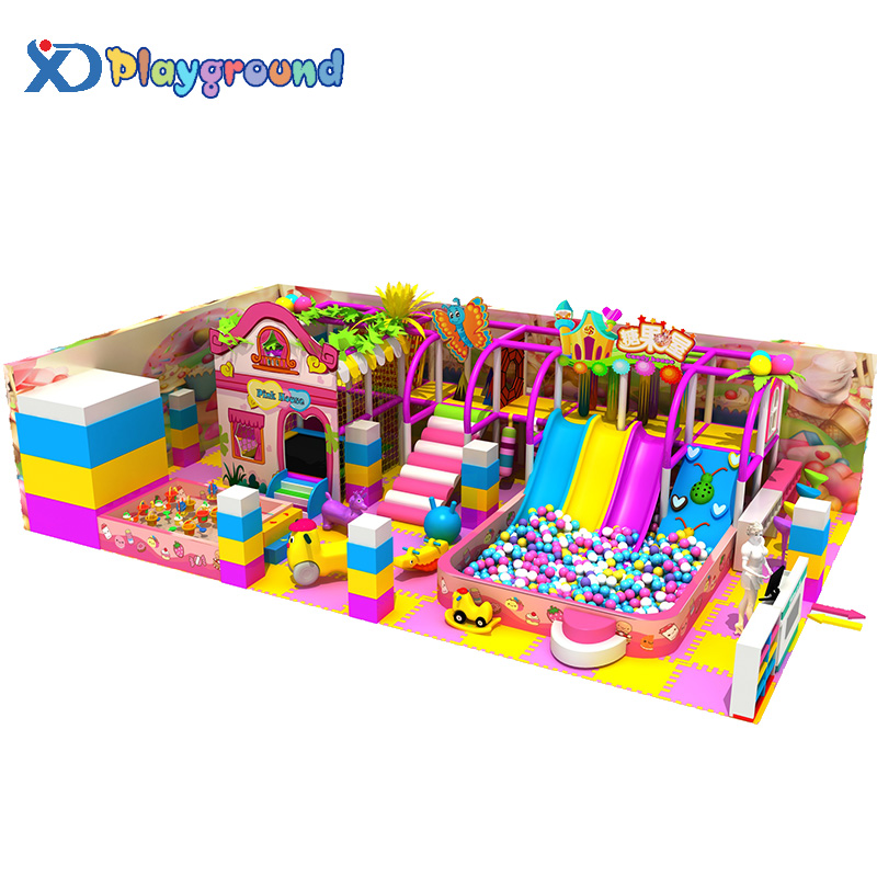 Newest amusement indoor playground babies play house children play house