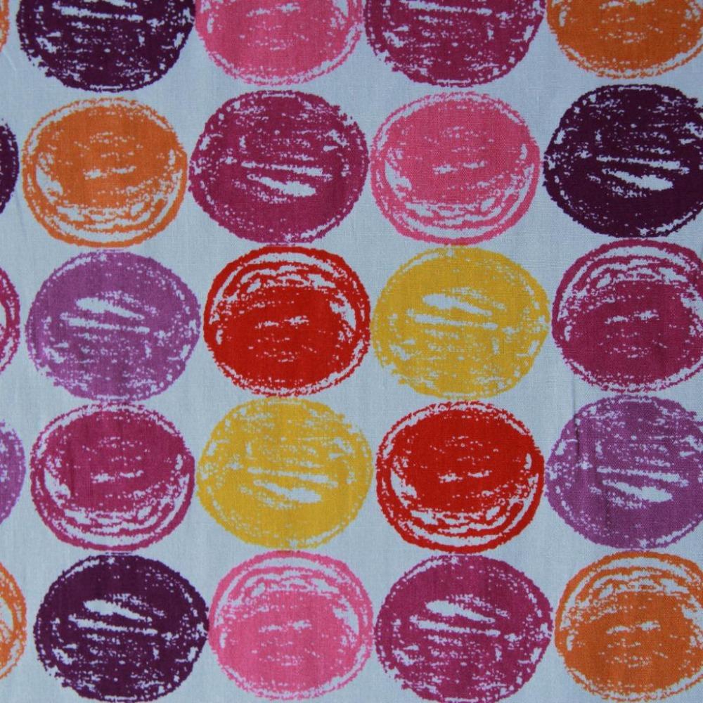 100 x 110 см экспортный заказ красочные круги карандаш граффити творческий хлопок лоскутное тканей швейные ткань Telas пункт диваны