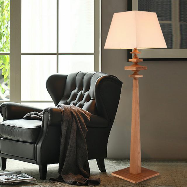 American Country Living Room Floor Lamp Bedroom Modern