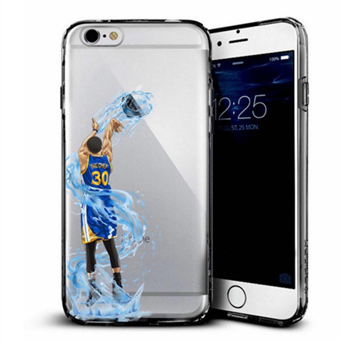 Low Moq 10pcs Printed Nba Player Case For Apple Iphone 8 8 Plus
