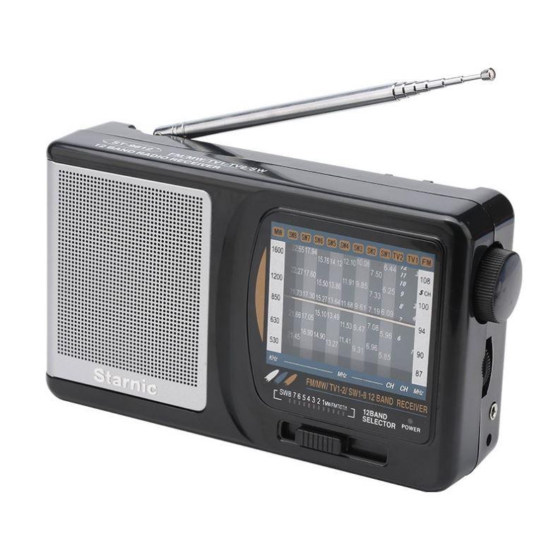 High quality reception desktop radio indoor multiband shortwave radio