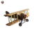 China supplier handmade wooden model helicopter
