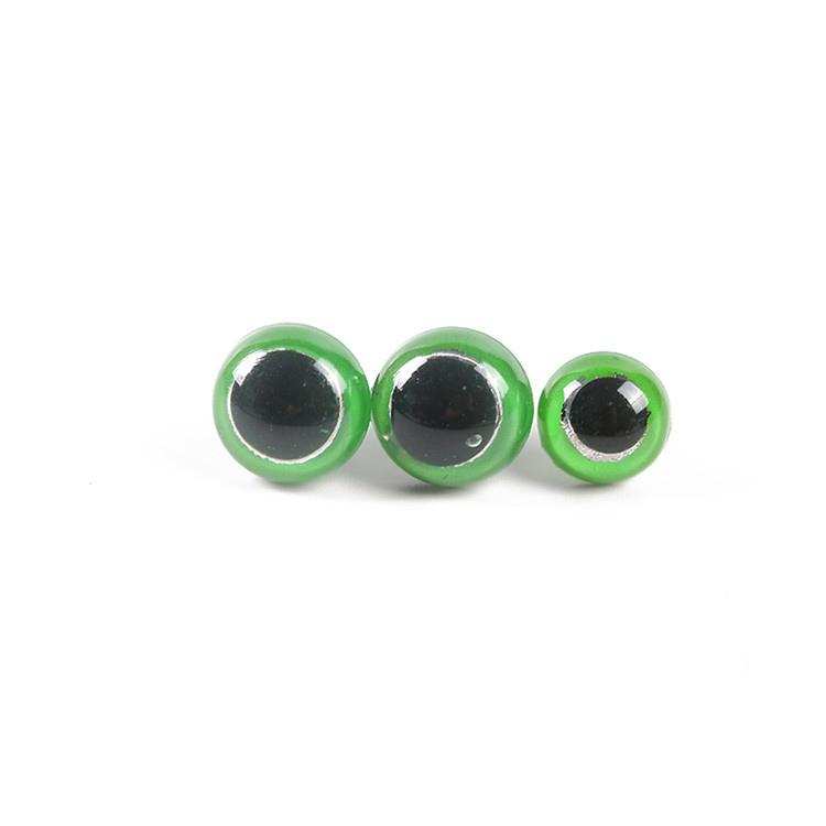 Пластиковое безопасное DIY игрушки куклы глаза; Цвет светло-зеленый; Большие размеры 35 мм для куклы животных ремесла Teddy Bear мягкого плюша; Аксессуары для куклы с шайбами