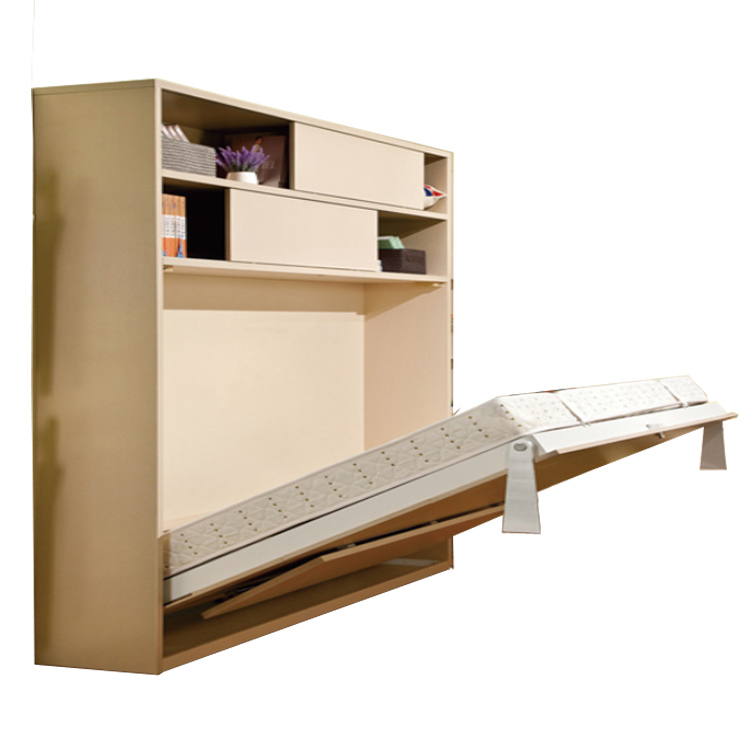 Space Saving Bedroom Furniture Pull Down Folding Wall Bed Buy Wall Mounted Bed Hidden Wall Bed Pull Doown Wall Bed Product On Alibaba Com
