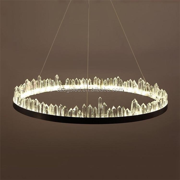 Современная хрустальная люстра для внутреннего освещения для отеля