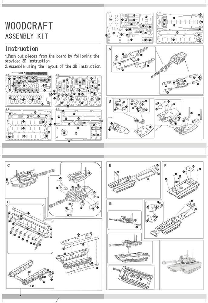 3D сборные Пазлы Oray для подростков и взрослых, Обучающие Объемные деревянные головоломки ручной работы из дерева