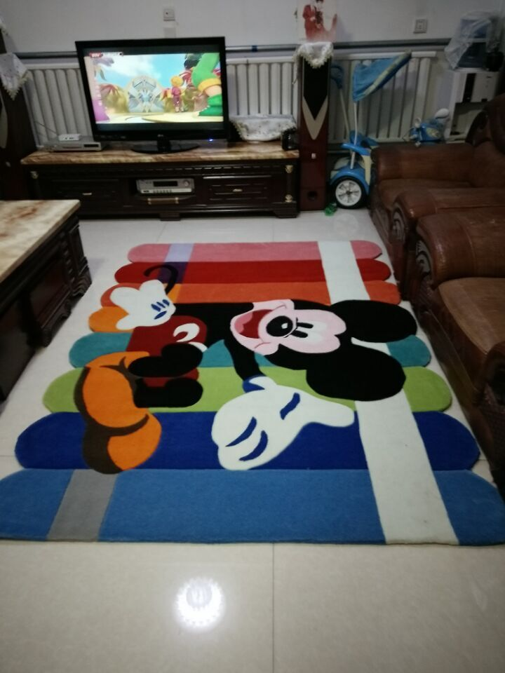 mickey mouse carpet salon tapis alfombras tapis anime tapete de sala alfombras salon alfombra. Black Bedroom Furniture Sets. Home Design Ideas