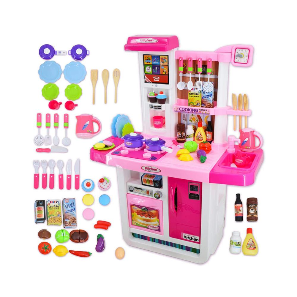 My Little Chef Kitchen Play Set Role Playing Game With Touchscreen Panel Water Features And 50 Accessories Buy Toy Kitchen Kitchen Set For Kids My Little Chef Kitchen Toy Product On Alibaba Com