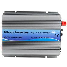 PowMr MPPT 600W на сетке галстук инвертор 18VDC (11 ~ 32VDC) к 110VAC или 220VAC чистая синусоида инверторы вентилятор охлаждения для солнечных систем(Китай)