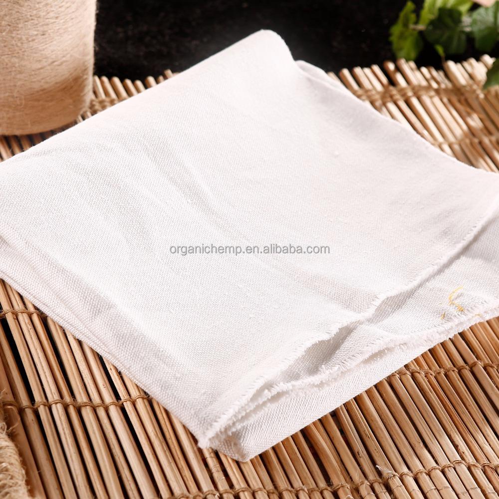 Поставка чистой конопляной ткани в елочку для постельного белья и штор