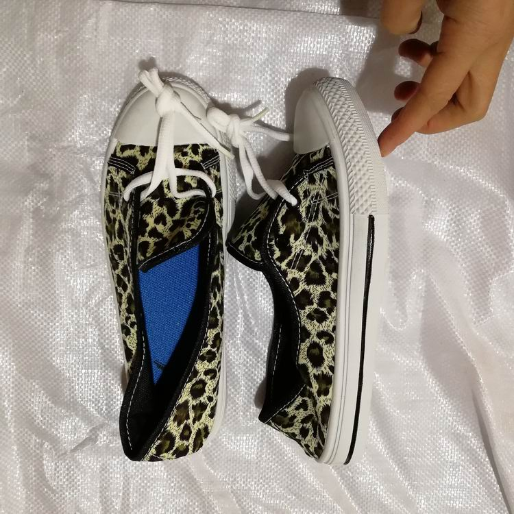 clearance stock lots women printed casual shoes