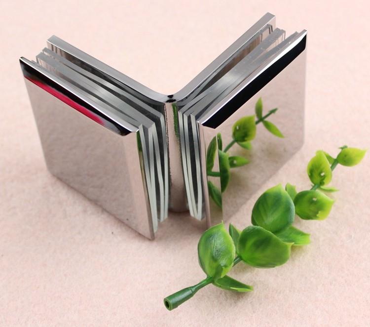 45mm Standard U Shape Brass Glass Table Top Hardware Buy